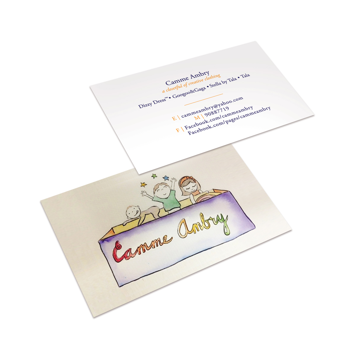 Camme Ambry Business Cards