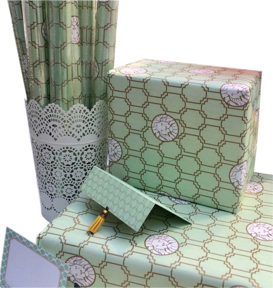 Honeycomb Cards & Wrapping Paper