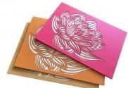 Lotus Laser Cut Cards