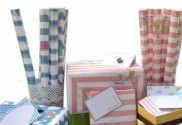 Nautical & Eiffel Tower Cards with Wrapping Paper
