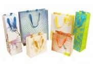 Cream & Gold Hibiscus Bags