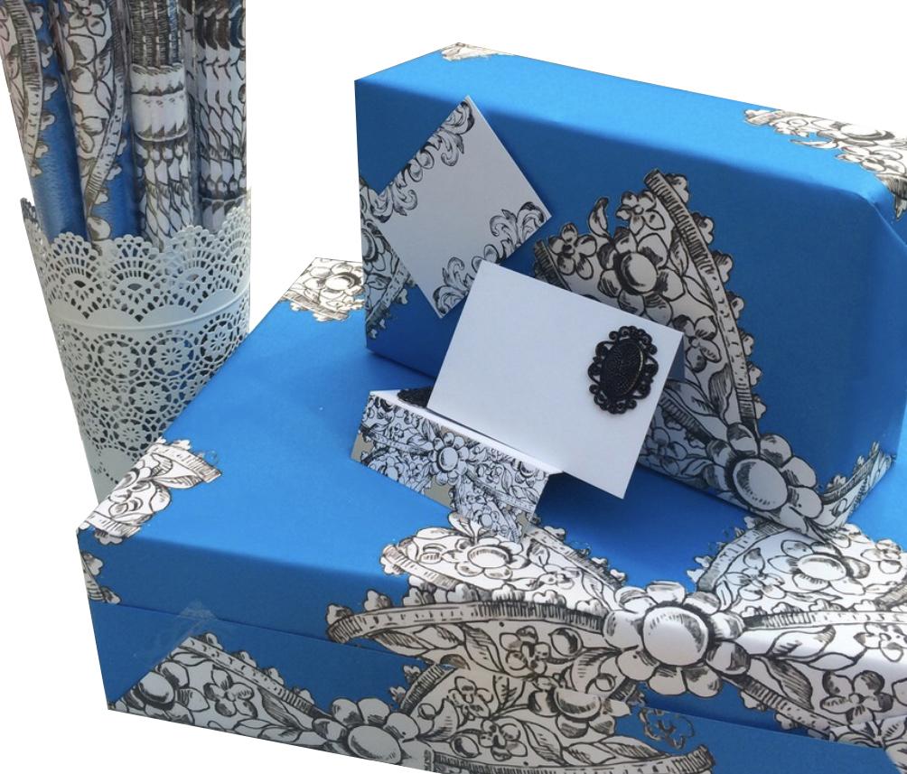 Motif Emblem Cards & Wrapping Paper