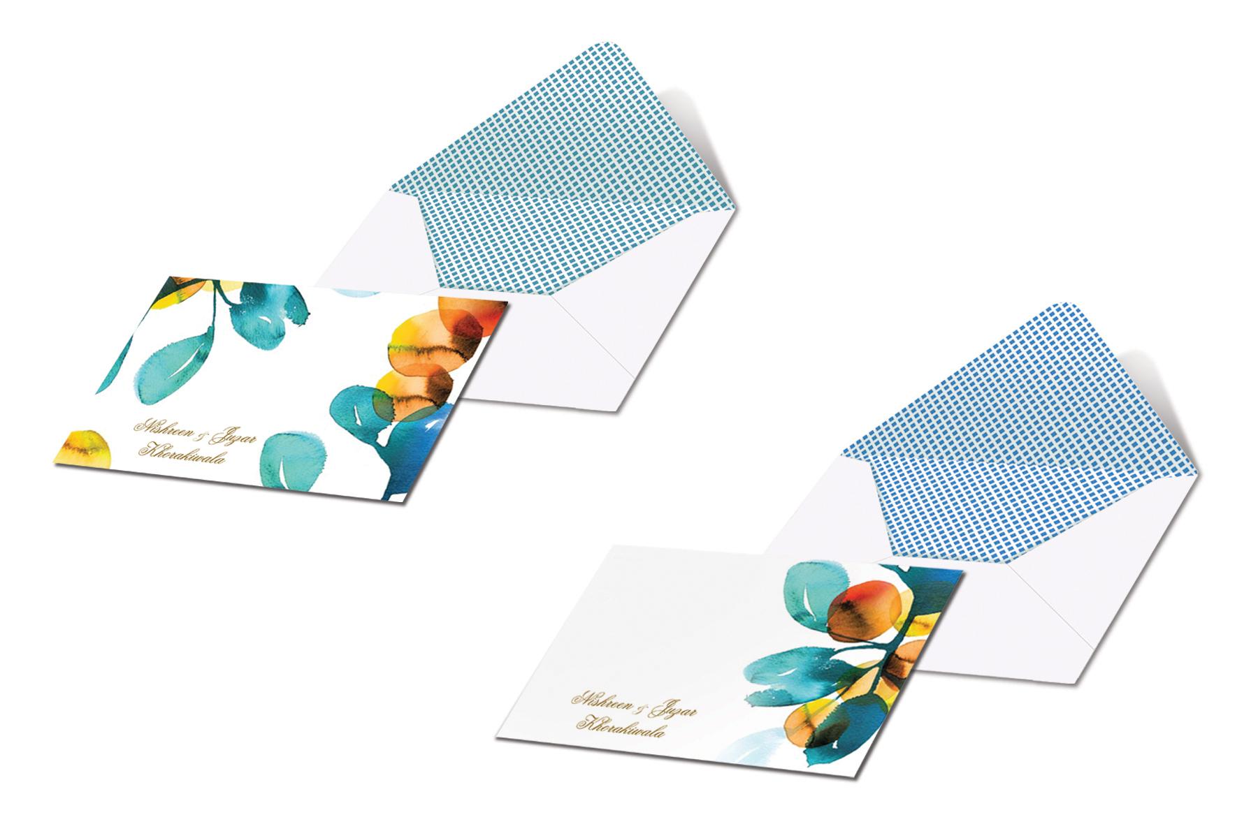 Nishreen Watercolour Stationery