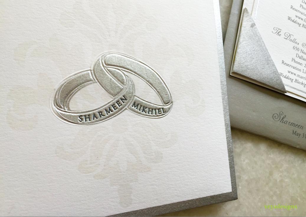 Invitation for Nice Designs Jewellery's Exhibition