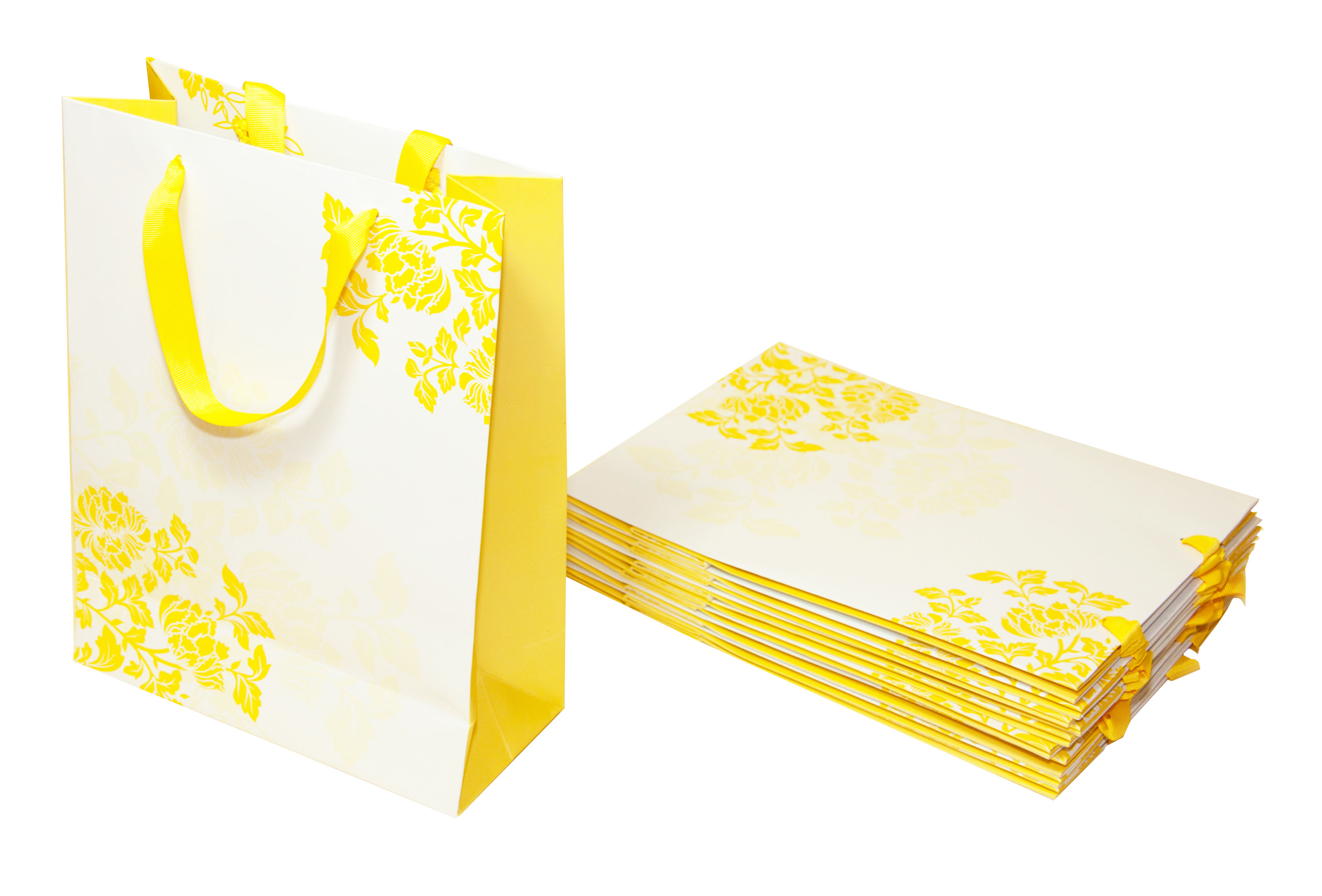 Yellow Chrysanthemum Bags